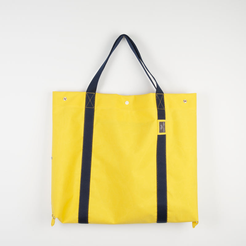 Yellow Navy 2D3D Bag