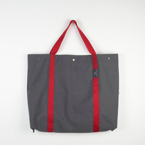 Grey Red 2D3D Bag