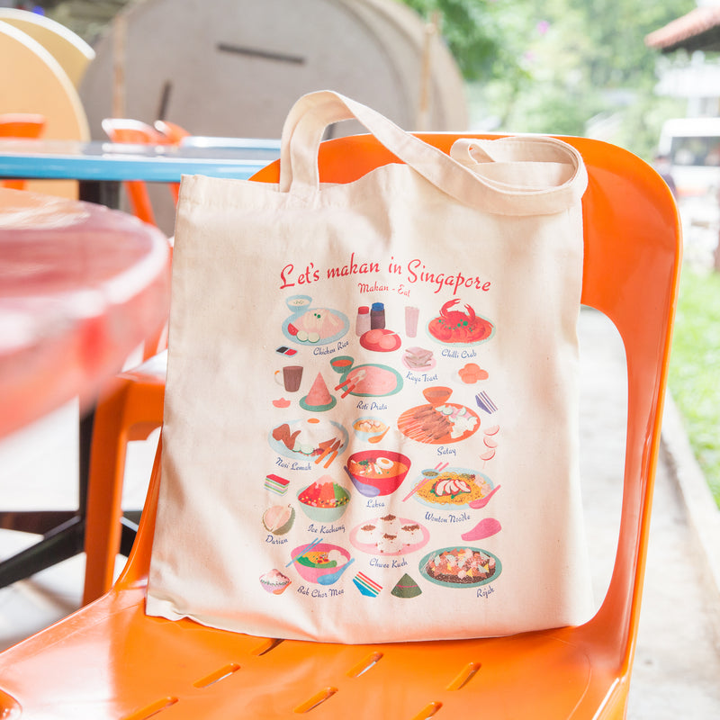 Let's Makan Tote Bag