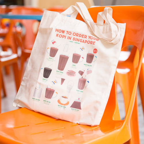 How To Order Kopi Tote Bag