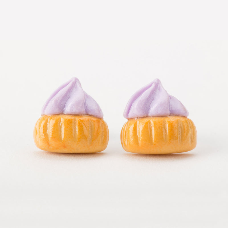 Ice Gem Biscuit (Lilac) Ear Studs