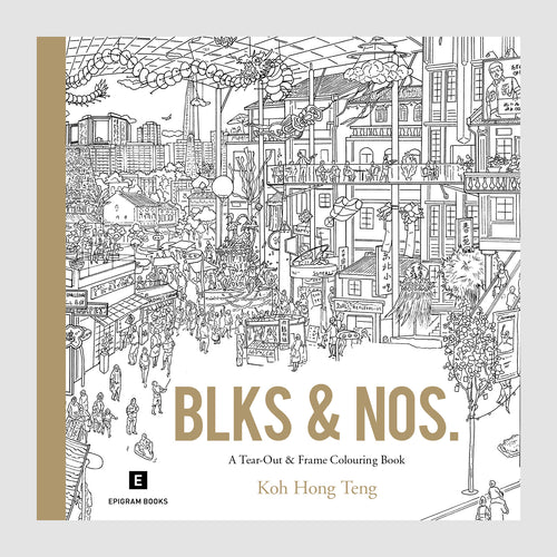 Colouring Book: Blks and Nos