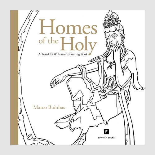 Colouring Book: Homes of the Holy