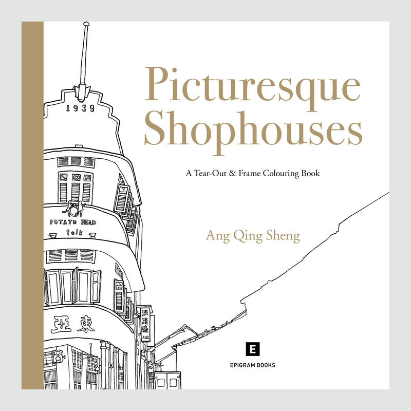 Colouring Book: Picturesque Shophouses