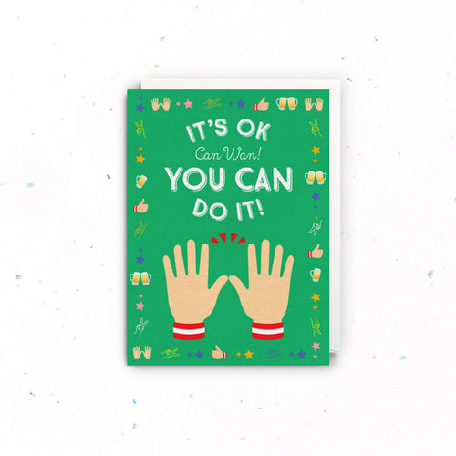 Can Wan Encouragement Card