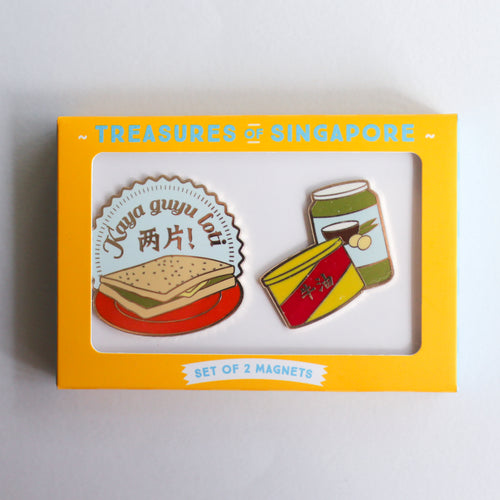 Toast + Kaya Butter Magnet Set