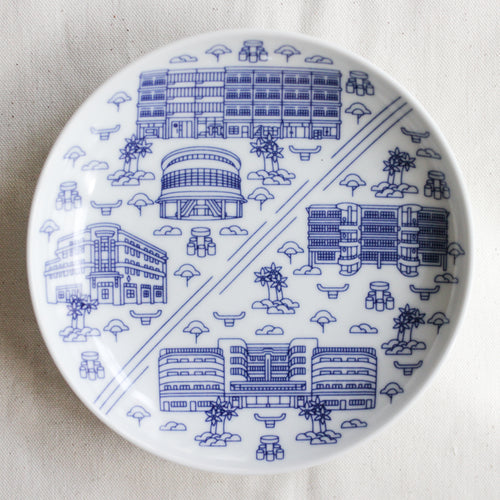 Tiong Bahru Architecture Plate