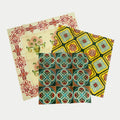 Scotts Yellow Peranakan Tiles Beeswax Food Wrap