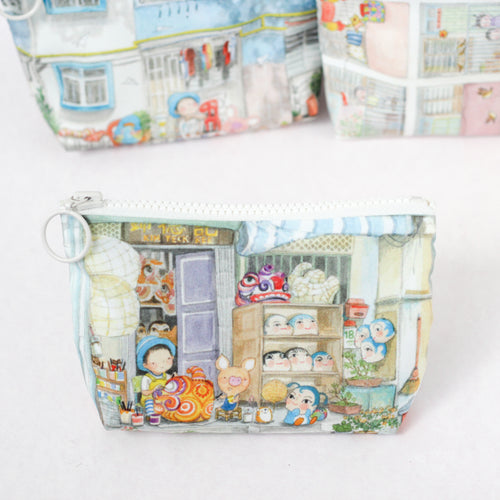 Little Craftsman Coin Pouch