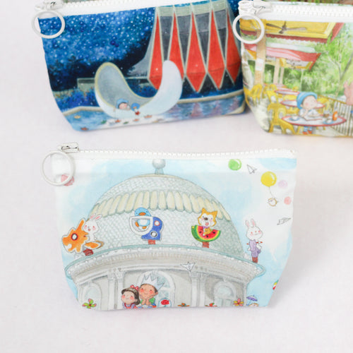 Merry Go Dome Coin Pouch