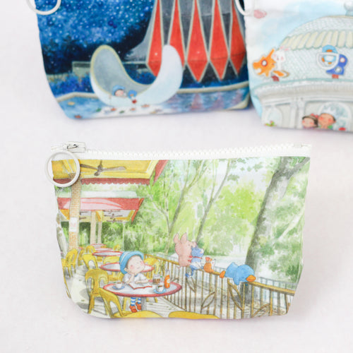 A Breath of Sunlight Coin Pouch