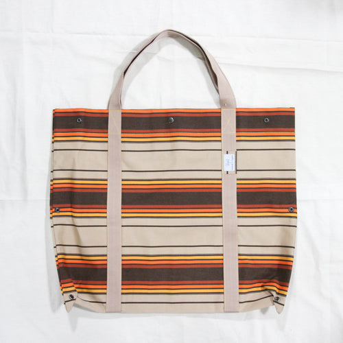 Orange Stripe 2D3D Bag