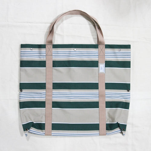 Green Stripe 2D3D Bag