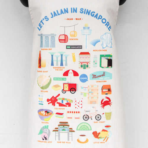 Let's Jalan in Singapore Apron