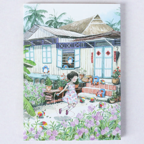 Kampong Fragrance 8.90 Notebook