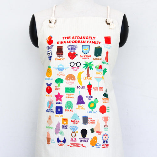Strangely Singaporean Apron
