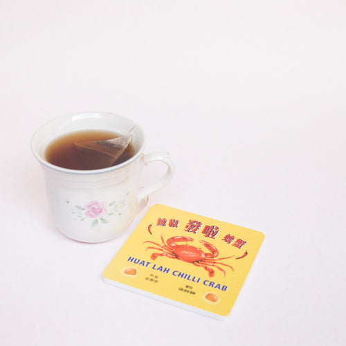 Chilli Crab Coaster