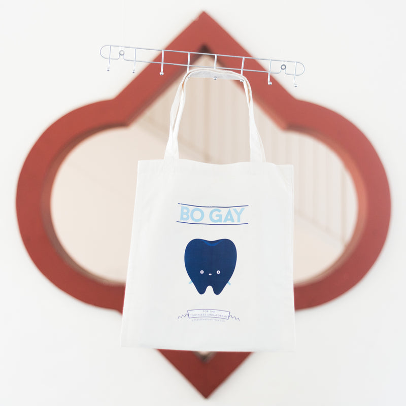 Bo Gay Tote Bag
