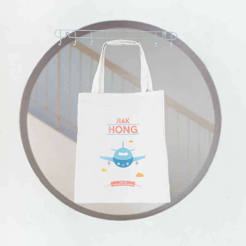 Jiak Hong Tote Bag