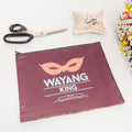 Wayang King Pouch