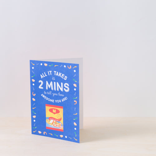 2 Mins Awesome Friendship Card
