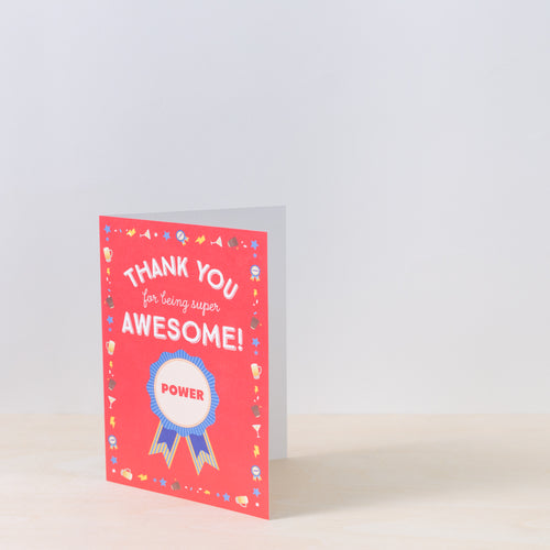 Awesome Thank You Card