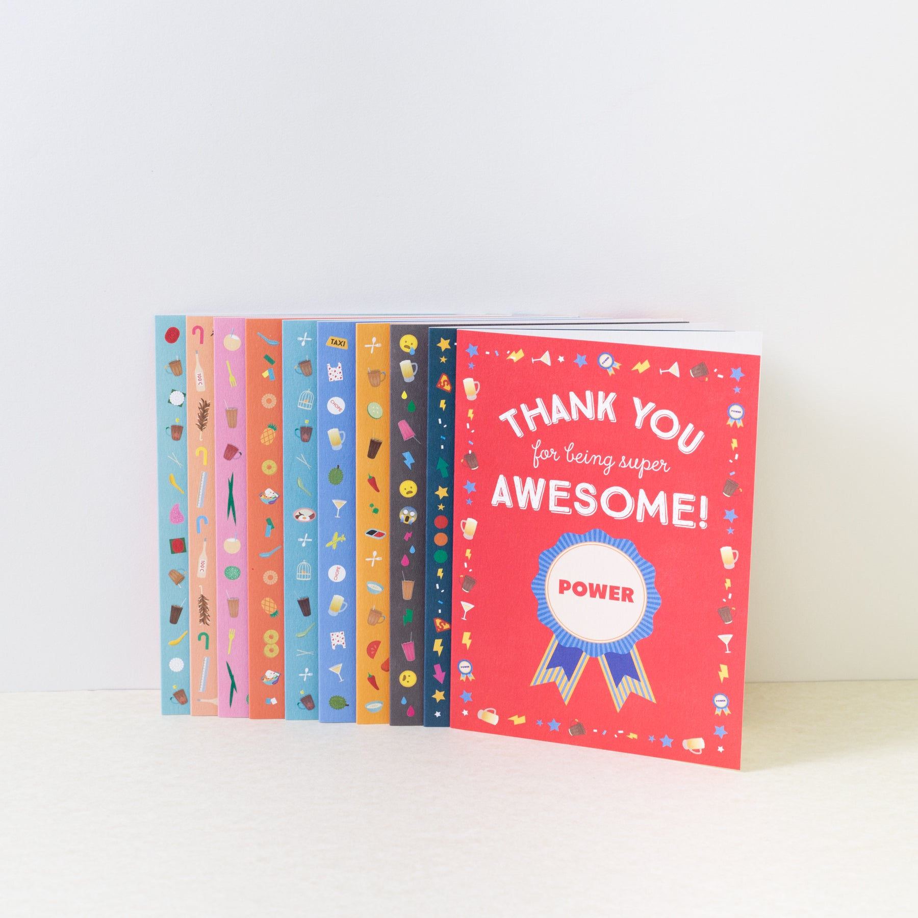 The Little Drom Store Awesome Thank You Card Independent Market