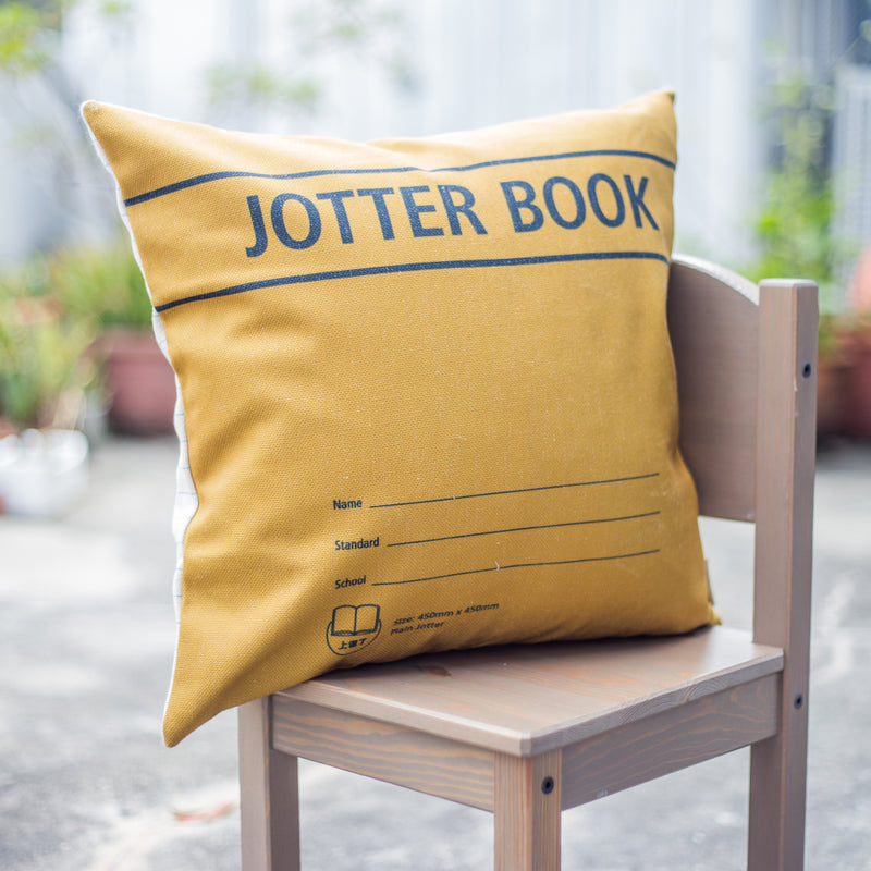 Jotter Book Cushion Cover