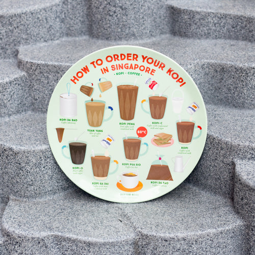 How to Order Kopi Melamine Plate