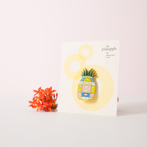 Pineapple Playground Brooch