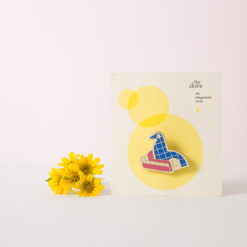 Dove Playground Brooch