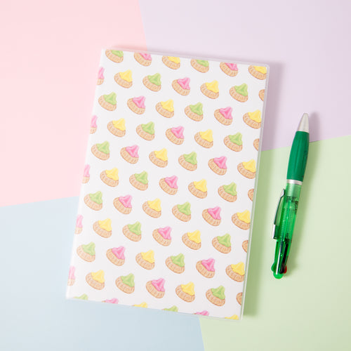 Biscuit A5 Lined Notebook