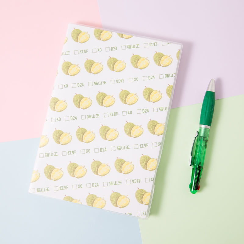 Durian A5 Lined Notebook