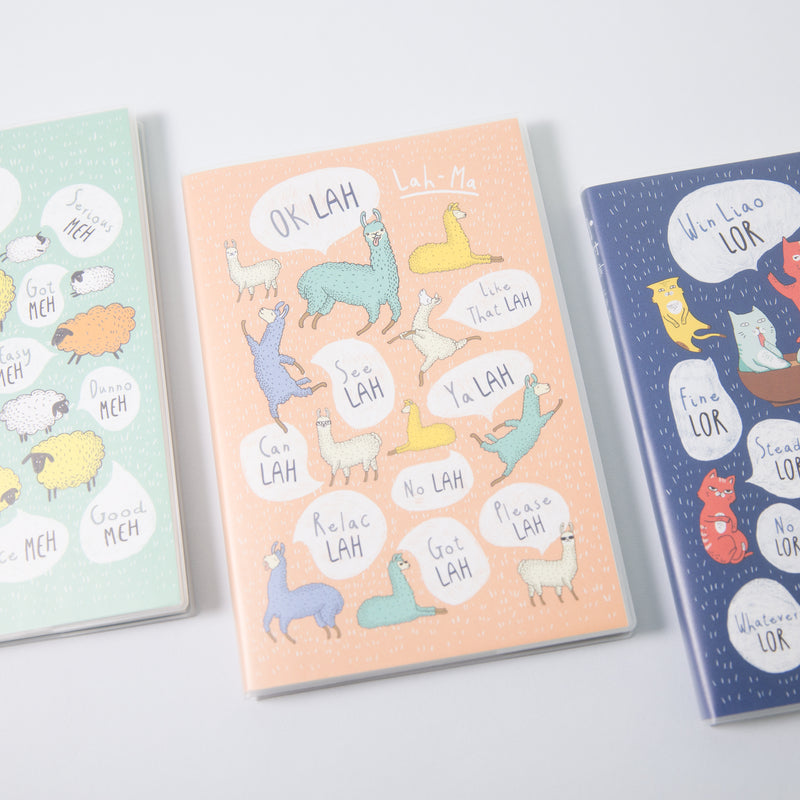 Lah A5 Lined Notebook