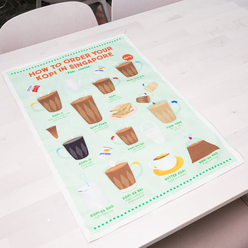 How To Order Kopi Tea Towel