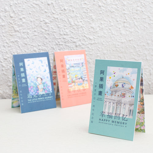 Happy Memory Postcard Set