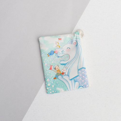 Merlion Big Love Coin Pouch