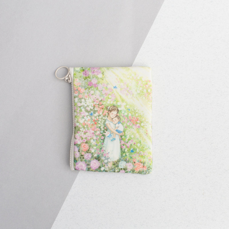 Fragrance in Dreams (Mother and Child) Coin Pouch
