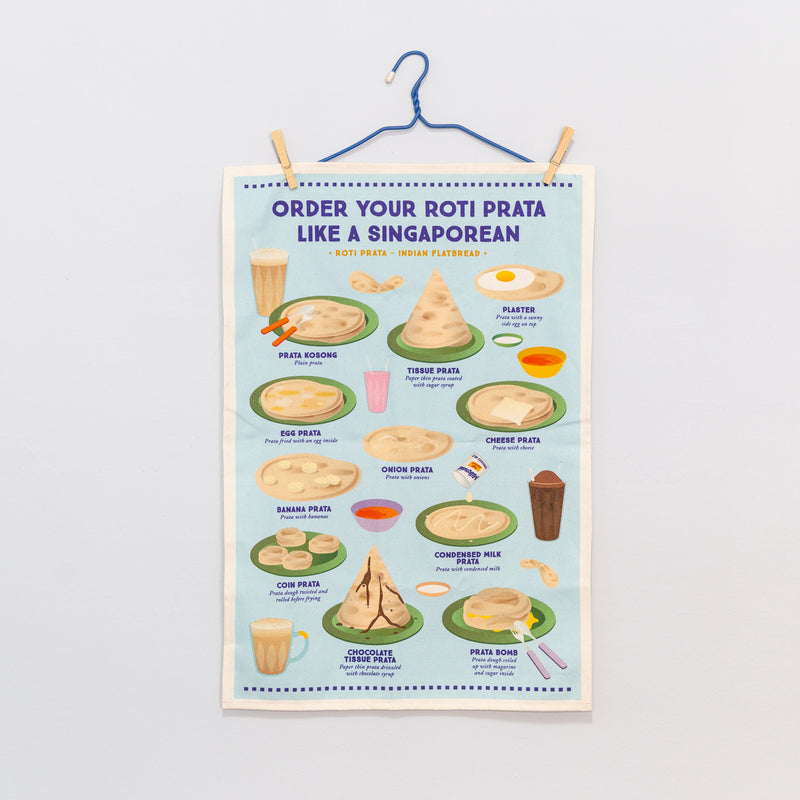 How to Order Roti Prata Tea Towel