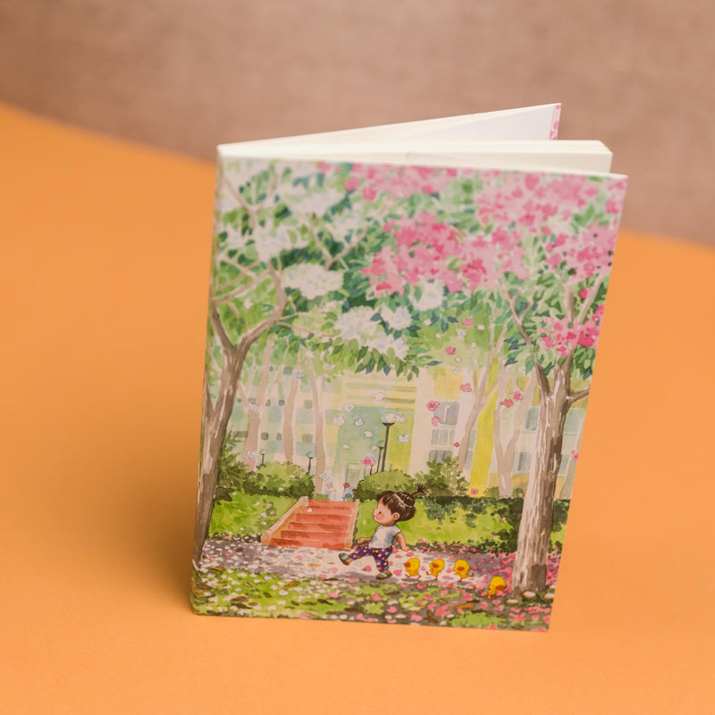 Walking on Fragrances 8.90 Notebook