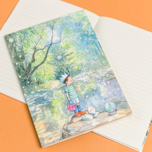 Bubbles Snow 8.90 Notebook