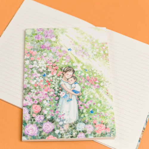 Fragrance in Dreams 8.90 Notebook