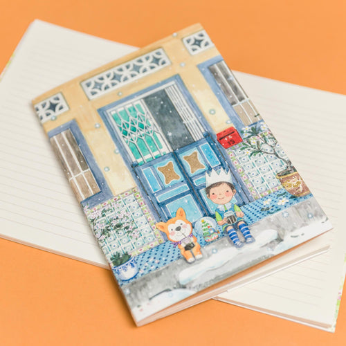 Xmas Five Foot Way 8.90 Notebook