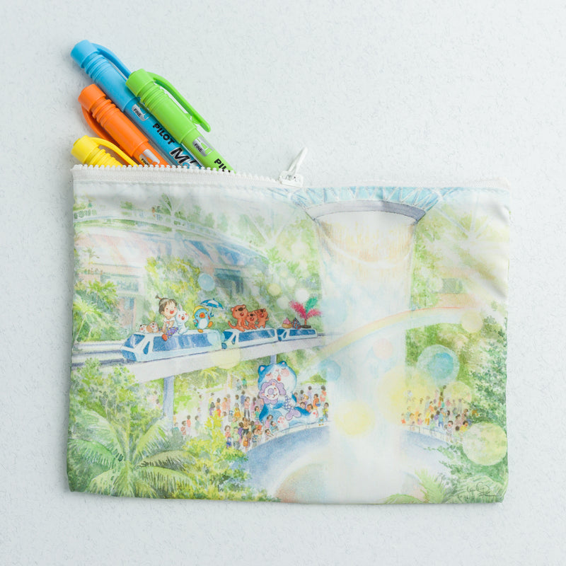 Changi Jewel (Sunshine Candyland) Pouch