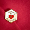 You Make My Heart Go Bedok Bedok Brooch