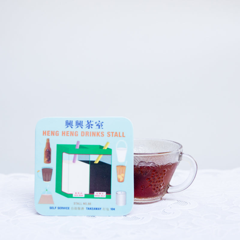Drinks Store Melamine Coaster
