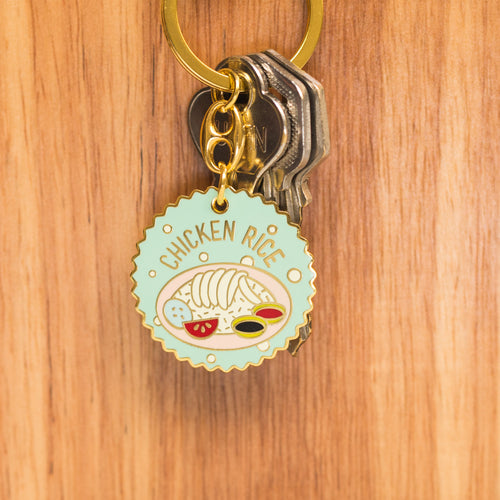 Chicken Rice Keychain