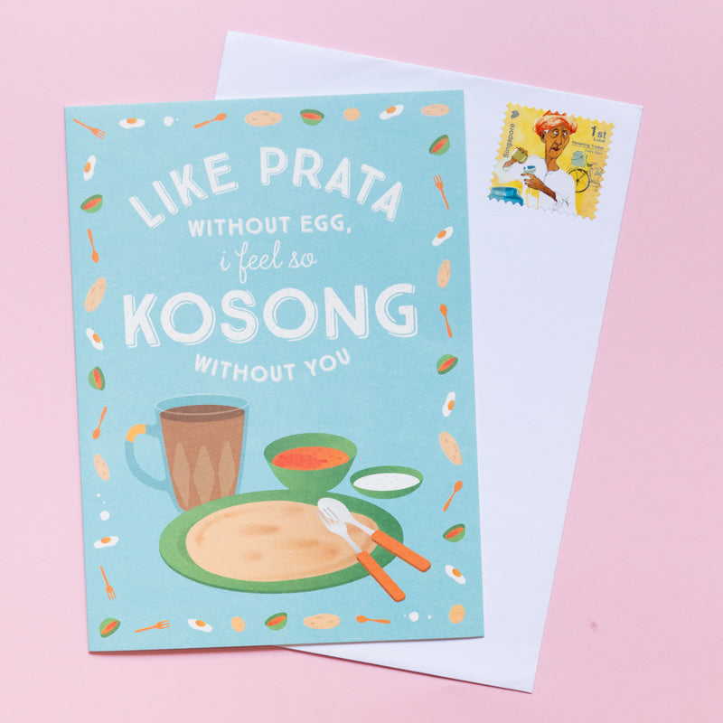 Prata Kosong Love Card