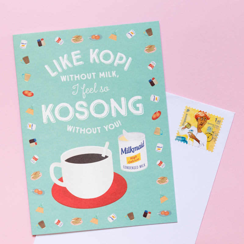 Kopi Kosong Love Card