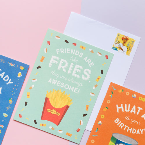 Fries Friendship Card